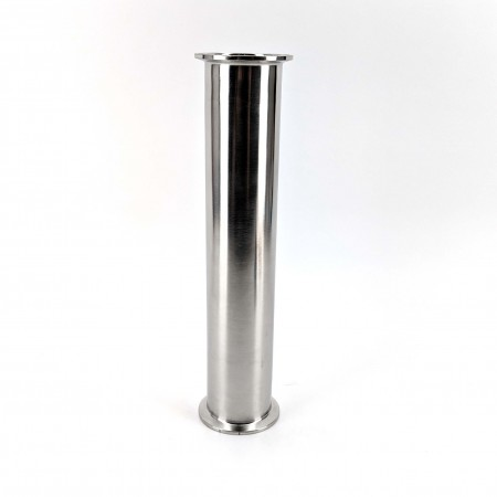304 Food Grade Stainless steel, 2 inch Tri-Clover, Extension Tube, for Reflux or Pot still