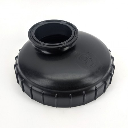 FermZilla Collection Container 2inch Tri-clover lid adaptor - Harvest Container for BrewBuilt Fermenters