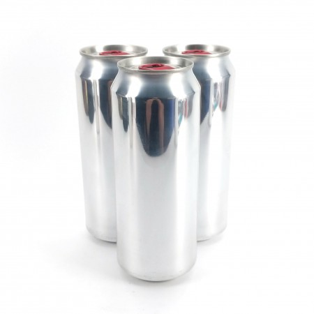 Empty 207 Aluminium 500ml Cans - Full Aperture - For Cannular Canning Machine from KegLand