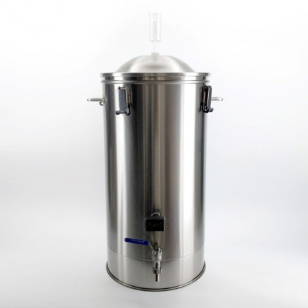 35L SS Brew Bucket Fermenter - Stainless Brew Buddy for Home Brewing, Wine Making