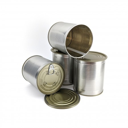 Tin Plated Steel Tin Can - For Cannular Can Seamer